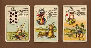 Lenormand Karten große und kleine Variante
