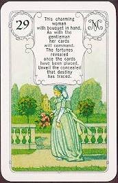 Lenormandkarten, Tageskarte